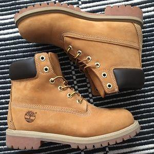 Timberland Premium work boot size 5.5 youth